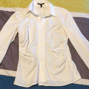 Hugo Boss Button Down Shirt White Size 6